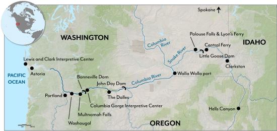 spirit river oregon map 2017 Columbia Snake Rivers Expedition Global Rivers Observatory spirit river oregon map